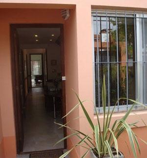 puerta con planta
